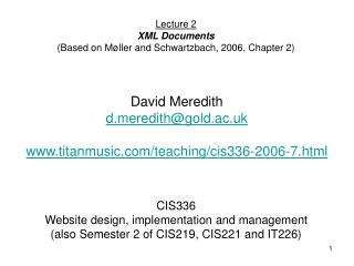 CIS336 Web design