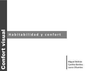 Confort visual