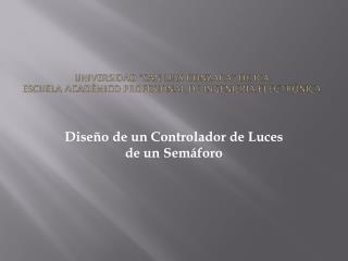 """Universidad """"San Luis Gonzaga"""" de Ica. Escuela Académico Profesional de Ingeniería Electrónica."""