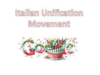 Italian Unification Movement