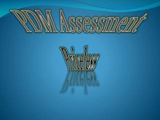 PDM Assessment Priceless