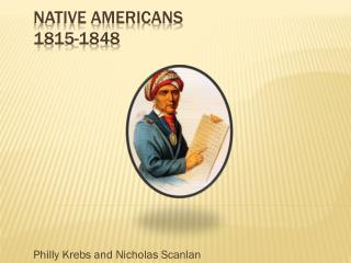 Native Americans 1815-1848