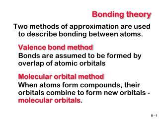 Bonding theory