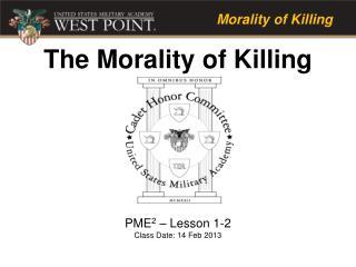 PME 2  – Lesson 1-2 Class Date: 14 Feb 2013