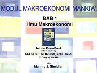 BAB 1 Ilmu Makroekonomi