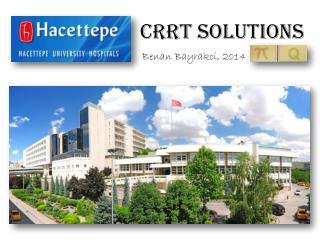 CRRT  solutions
