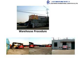 Warehouse Procedure