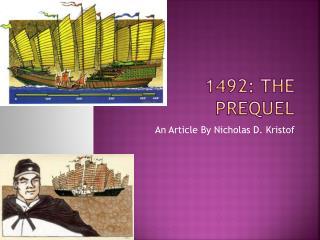 1492: The Prequel