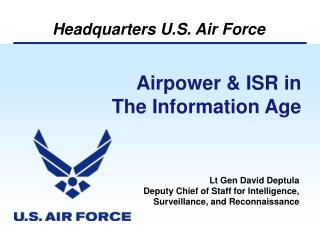 Airpower & ISR in  The Information Age