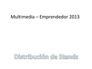 Distribución de Stands