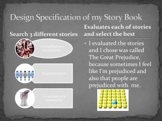 Design Specification  of my  Story Book