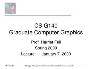 CS G140