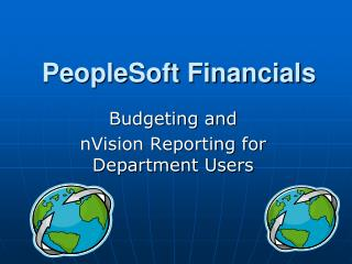 PeopleSoft Financials