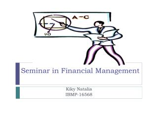 Seminar in Financial Management