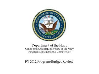 FY 20122013 Program Budget Review