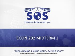 ECON 202 MIDTERM 1