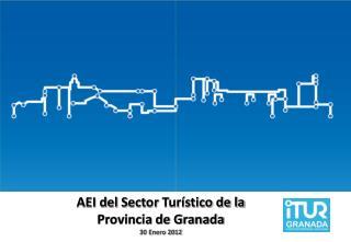 AEI d el  S ector Turístico de la Provincia de Granada 30 Enero 2012