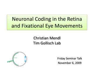 Neuronal Coding in the Retina and Fixational Eye Movements
