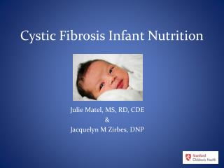 Cystic Fibrosis Infant Nutrition