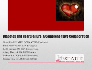 Diabetes and Heart Failure: A Comprehensive Collaboration