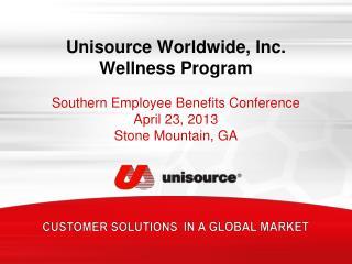 Unisource Worldwide, Inc.  Wellness Program