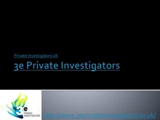 Professional private investigators in the UK