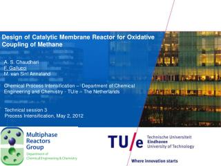 Design of Catalytic Membrane Reactor for Oxidative Coupling of Methane