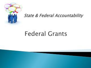 State & Federal Accountability
