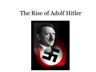 a history of adolf hitlers beginning and the rise of world war two Adolf hitler, two of his closest the book sold over five million copies by the start of world war ii hitler's rise to adolf eichmann – pbs adolf.