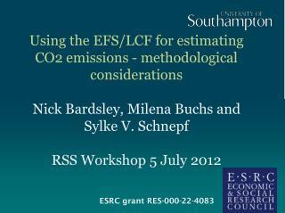 ESRC grant RES-000-22-4083