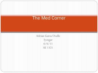 The Med Corner