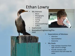 Ethan Lowry