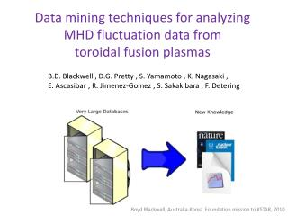 Data mining techniques for analyzing MHD fluctuation data from toroidal fusion plasmas
