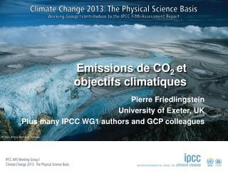Emissions de CO 2  et objectifs climatiques