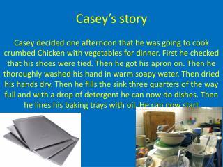 Casey's story