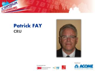 Patrick FAY CRU