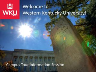 Welcome to  Western Kentucky University!