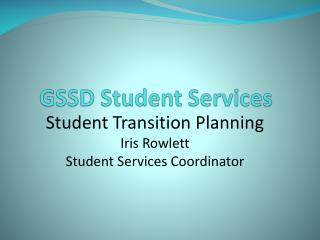 GSSD Student Services