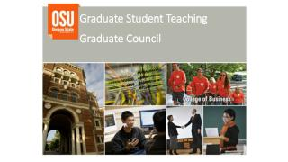 Graduate Student Teaching Graduate Council