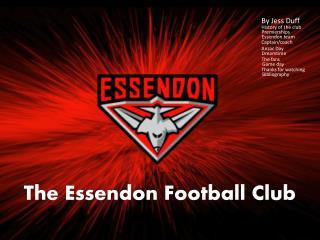 The Essendon Football Club