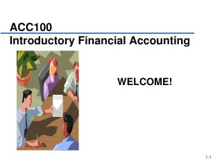 ACC100 Introductory Financial Accounting