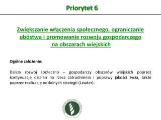 Priorytet 6
