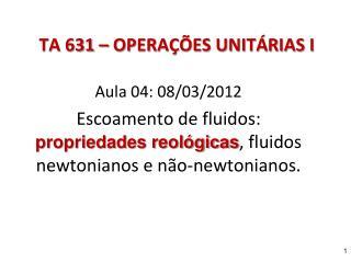 TA 631 OPERA