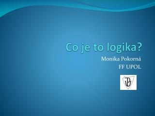 Co je to logika?