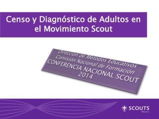 Censo y Diagn�stico de Adultos en el  Movimiento Scout