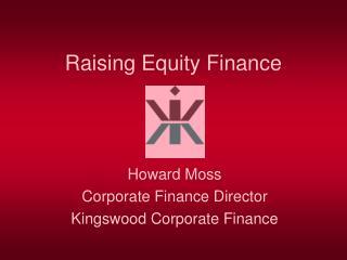 Raising Equity Finance