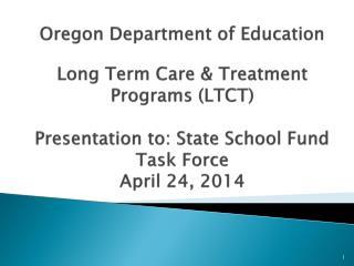LTCT Overview