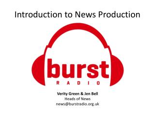 Introduction to News Production
