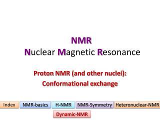 NMR N uclear