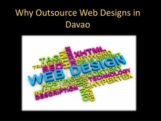 Why Outsource Web Designs in Davao